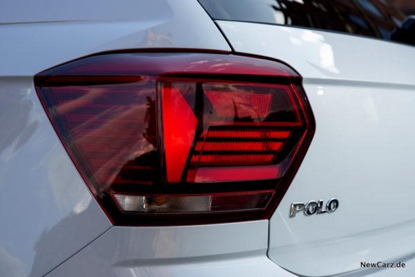 VW Polo 2017 Heckleuchten