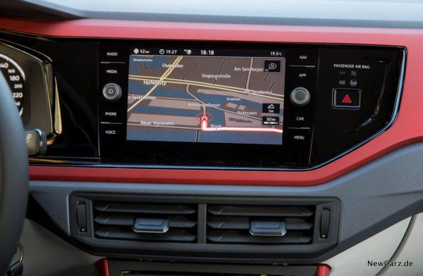 VW Polo 2017 Infotainment