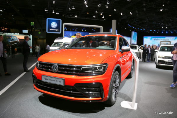 VW Tiguan Allspace R-Line