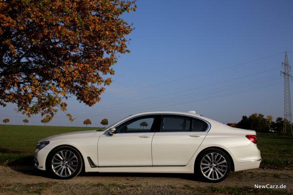 BMW 7er Seitenansicht