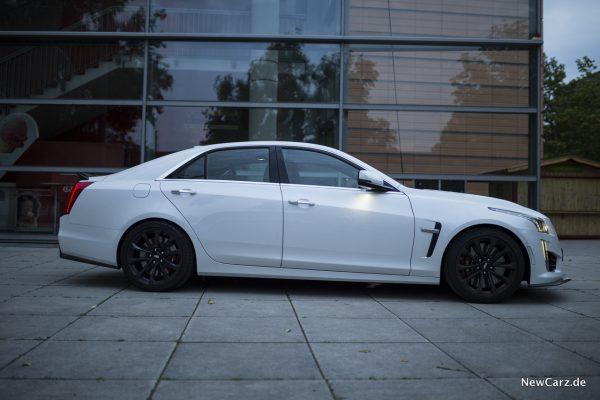 Cadillac CTS-V Seite