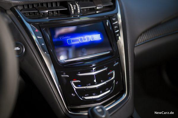 Cadillac CTS-V Navigationssystem CUE