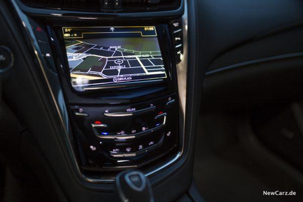 Cadillac CTS-V Navigationssystem