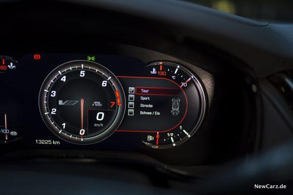 Cadillac CTS-V Rundinstrumente