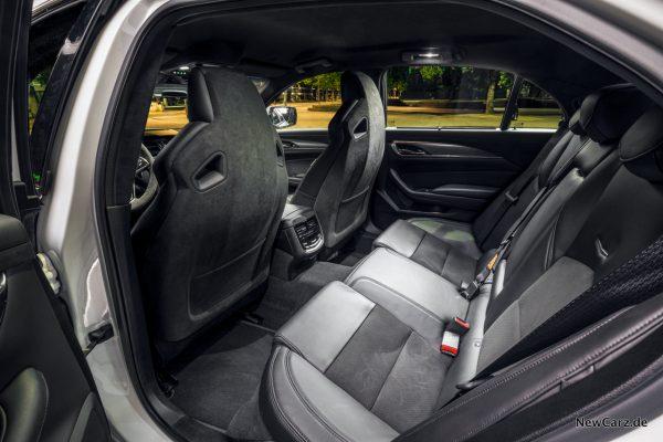 Cadillac CTS-V Rückbank