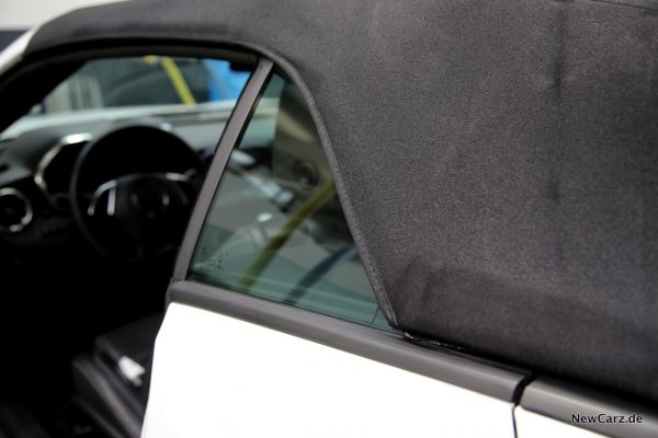 Chevrolet Camaro Cabriolet Windgeräusche