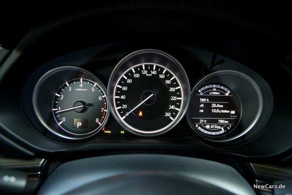 Mazda CX-5 SKYACTIV-G 194 Tachoeinheit
