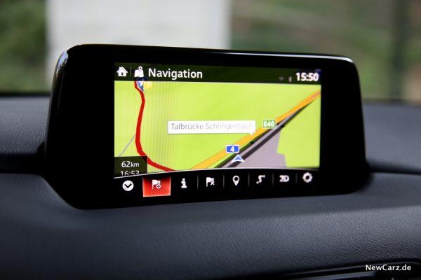 Mazda CX-5 SKYACTIV-G 194 Navigationssystem