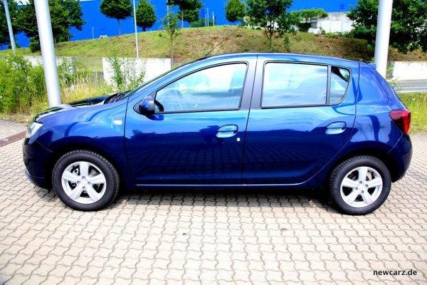 Dacia Sandero Seite Exterieur