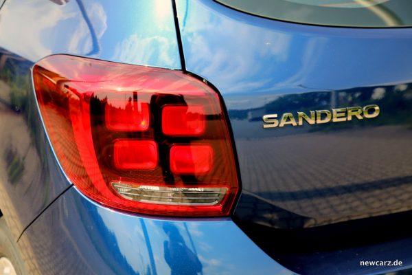 Dacia Sandero Heckleuchten