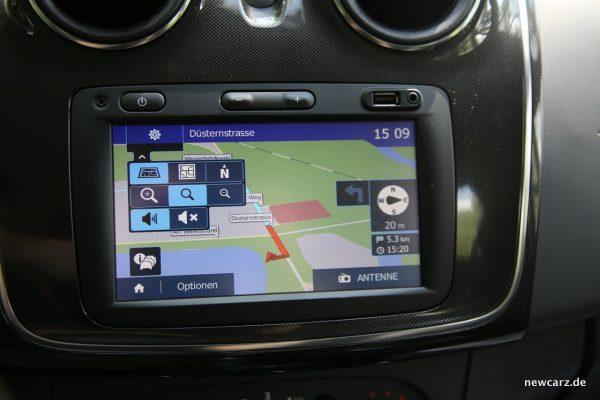 Dacia Sandero Navigation