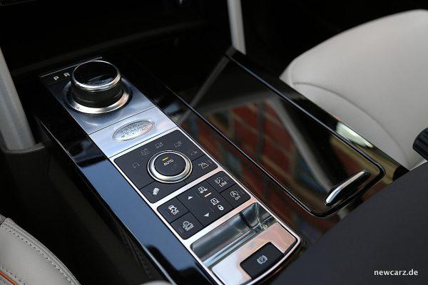 Land Rover Discovery 5 Mittelkonsole Bedienelemente