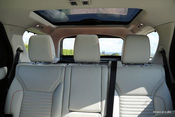 Land Rover Discovery 5 Kopfstützen hinten
