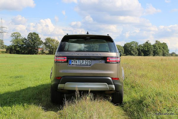 Land Rover Discovery 5 Heck