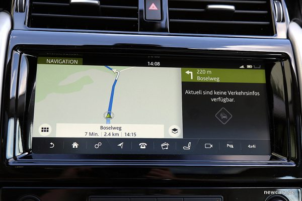 Land Rover Discovery 5 Navigationssystem