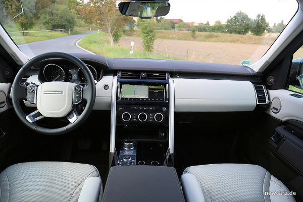 Land Rover Discovery 5 Armaturenbereich