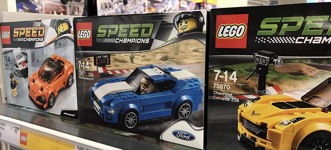 NewCarz LEGO Modellauto Spielzeug Männertraum