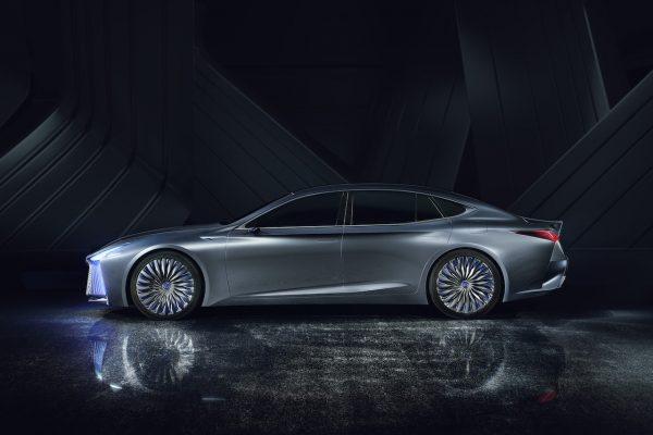 Lexus LS+ Concept Seite Exterieur