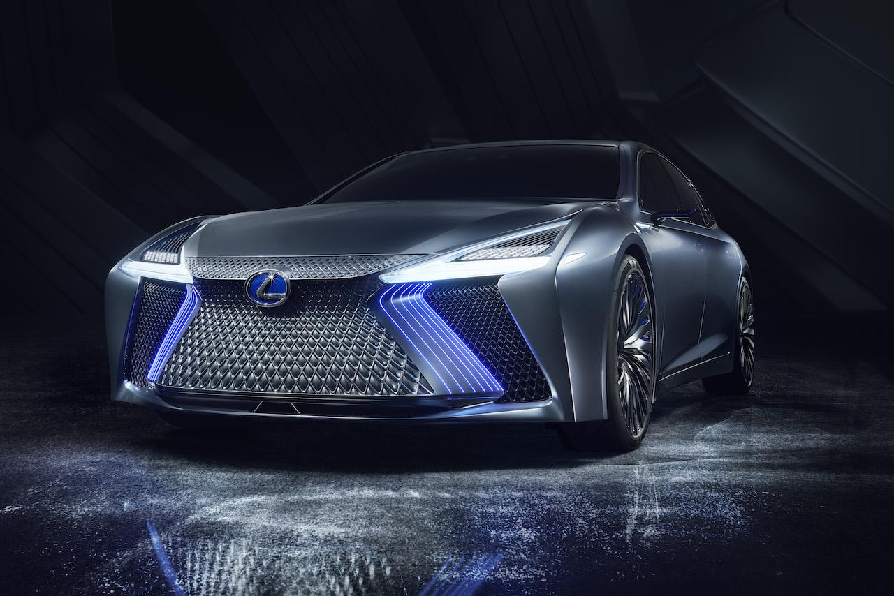 Das Lexus LS+ Concept Front