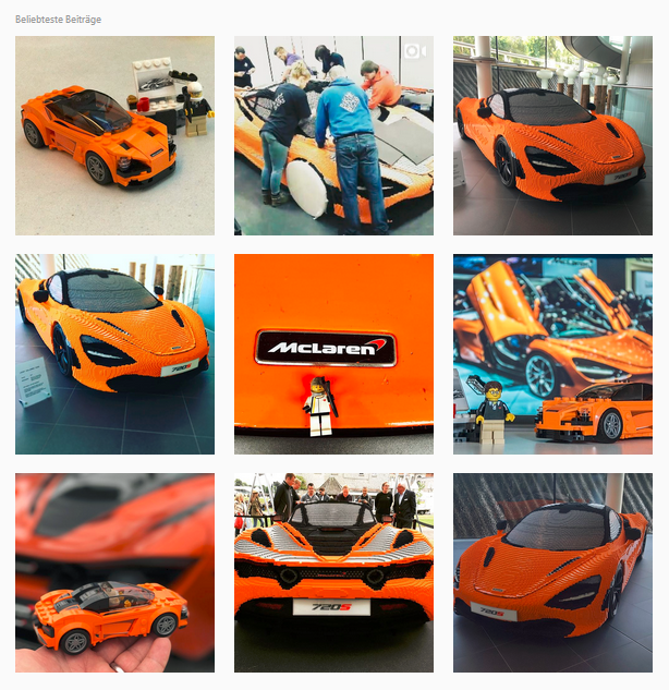 NewCarz McLaren Goodwood Instagram