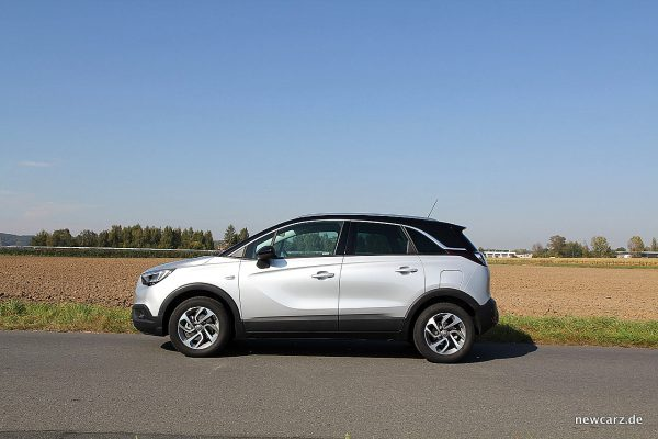 Opel Crossland X Privacy-Verglasung