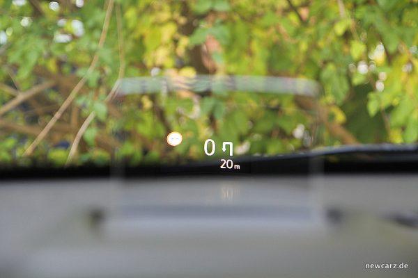 Opel Crossland X HUD
