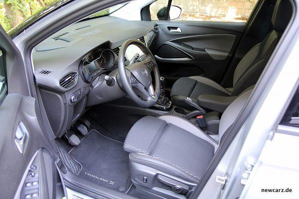 Opel Crossland X Interieur vorne