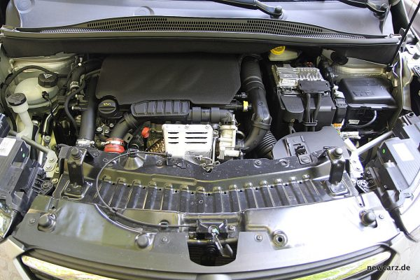 Opel Crossland X Motorraum