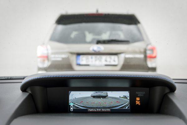 Subaru Levorg Frontkamera Multifunktionsdisplay