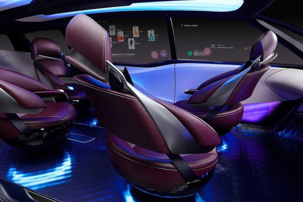 Toyota Fine-Comfort Ride Interieur Sitze