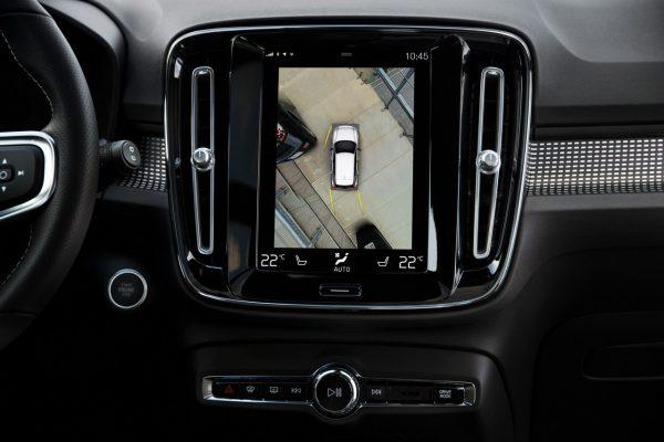 Volvo XC40 Bildschirm
