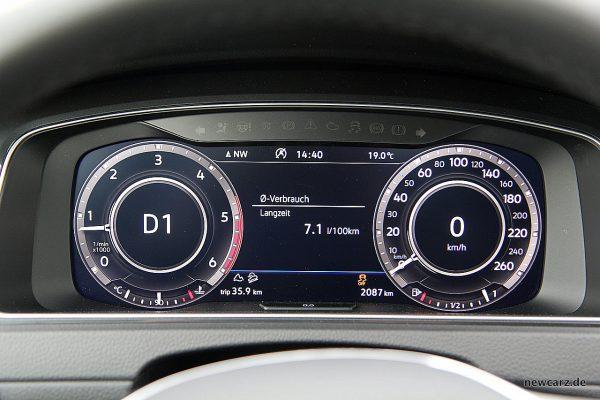 VW Golf Alltrack Variant Verbrauch