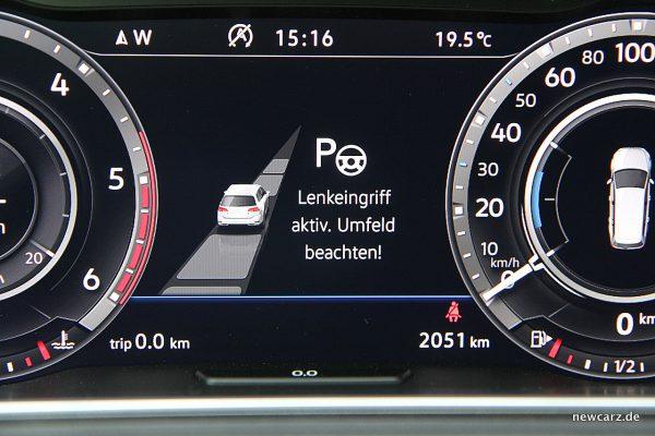 VW Golf Alltrack Variant Parkassistent