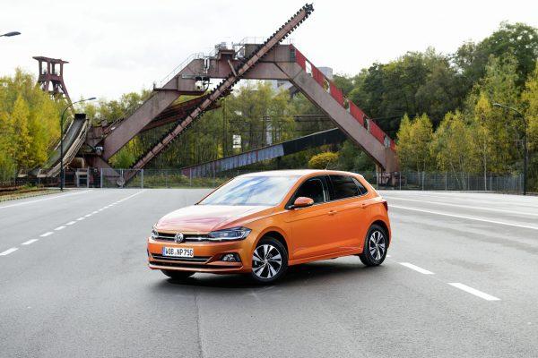VW Polo TGI Front