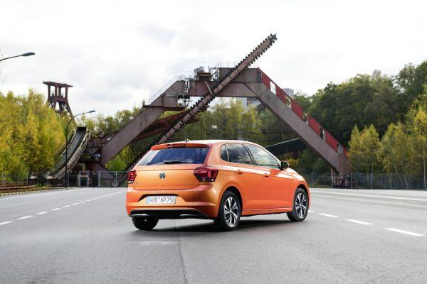 VW Polo TGI Heck