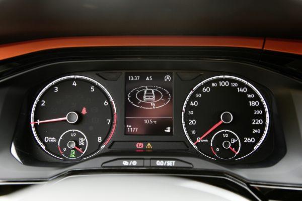 VW Polo TGI Kombiinstrument Tankanzeige