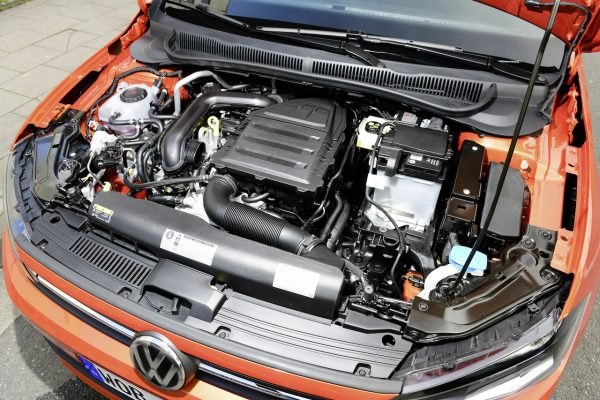 VW Polo TGI Motor