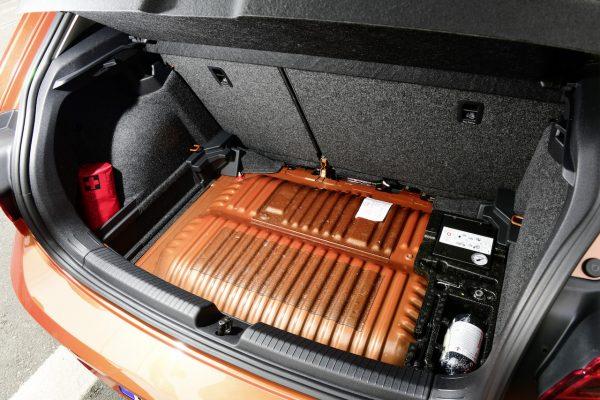 VW Polo TGI Tank