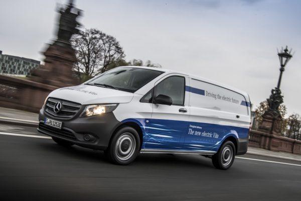 Mercedes-Benz eVito Seitenansicht