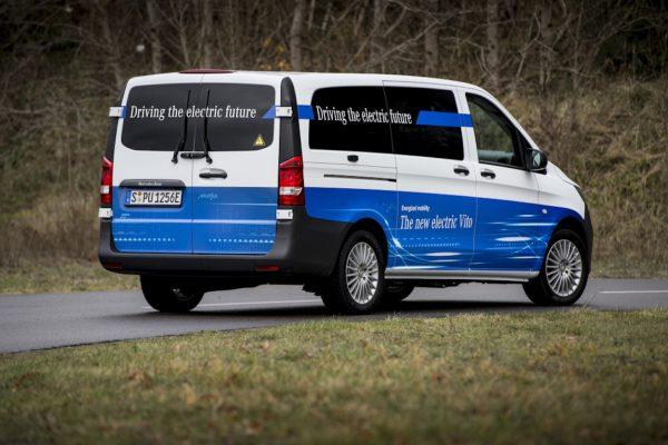 Mercedes-Benz eVito Heck