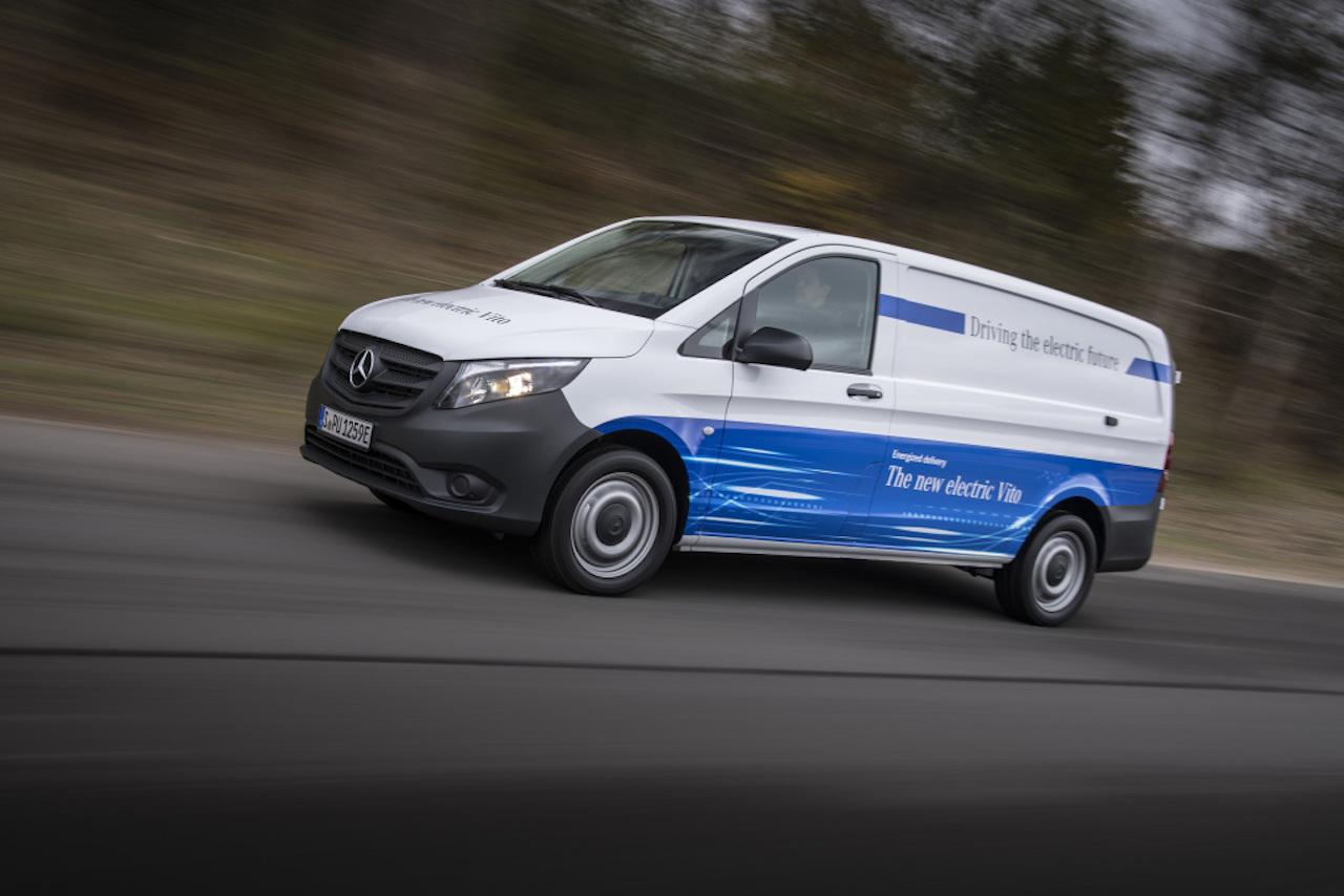 Mercedes-Benz Vans eVito Seitenansicht