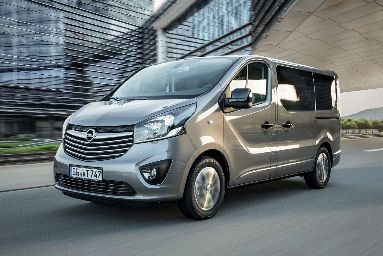 Opel Vivaro Tourer Exterieur