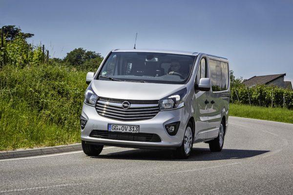 Opel Vivaro Tourer Combi+ Front Exterieur