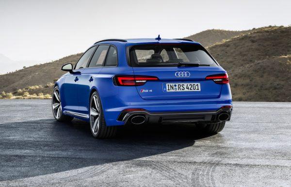 Audi RS 4 Avant Heck