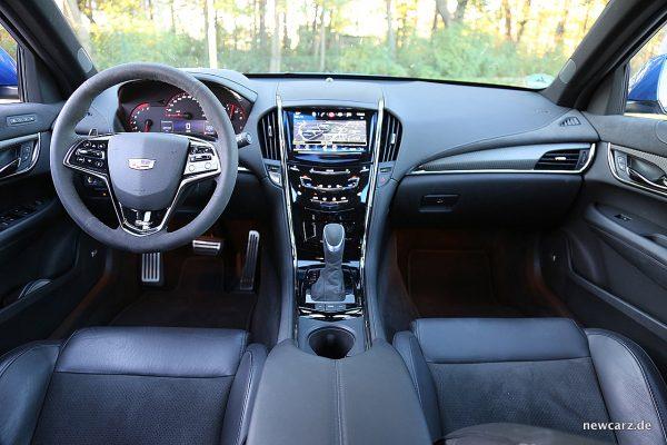 Cadillac ATS-V Armaturenbereich