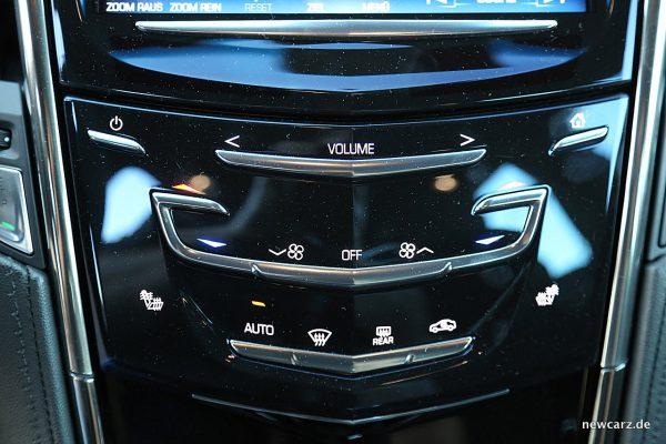 Cadillac ATS-V Sensortasten