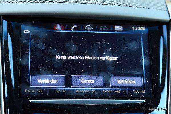 Cadillac ATS-V Medien