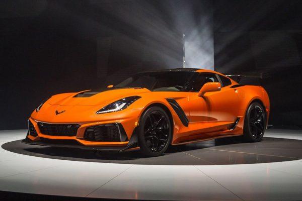 Corvette ZR1 schräg vorn