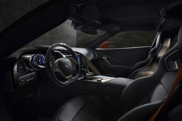 Corvette ZR1 Interieur