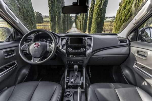 Fiat Fullback Cross Interieur
